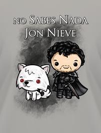 JUEGO DE TRONOS - JON NIEVE - NO SAB...
