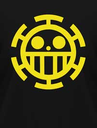 ONE PIECE - LOGO TRAFALGAR LAW