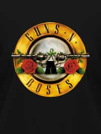CLASSICS OF ROCK - LOGO GUNS N ROSES