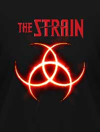 THE STRAIN - BIOHAZARD LOGO