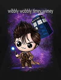 DR WHO, 10TH DOCTOR - WIBBLY WOBBLY ...
