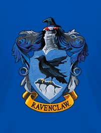 HARRY POTTER - ESCUDO RAVENCLAW