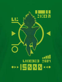 DRAGON BALL, SCOUTER VERDE - NIVEL D...