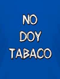 NO DOY TABACO